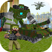 Block Soldier War Games APK for Bluestacks