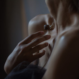 feels the touch by Strumfu Catalin - People Body Parts ( conceptual portrait, fine art )