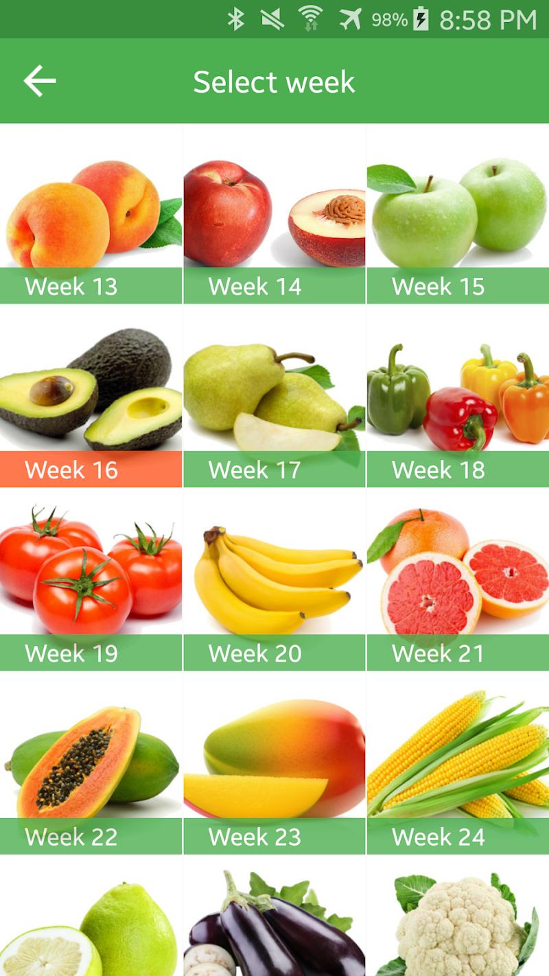 Pregnancy Week By Week Screenshot 6