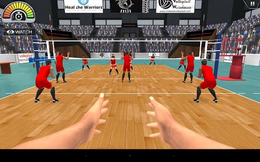 VolleySim Defense - screenshot