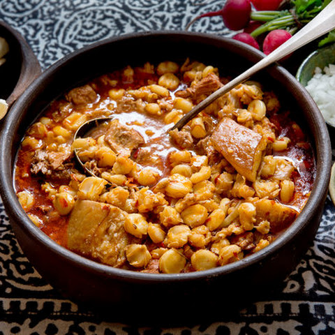 10. New Mexican Red Chile Posole