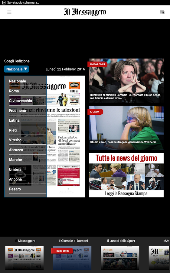 Il Messaggero Screenshot 14