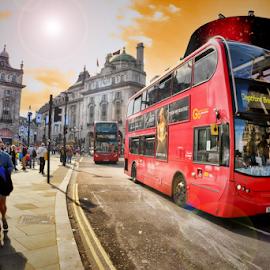 London by Roni Bit - City,  Street & Park  Street Scenes ( london )