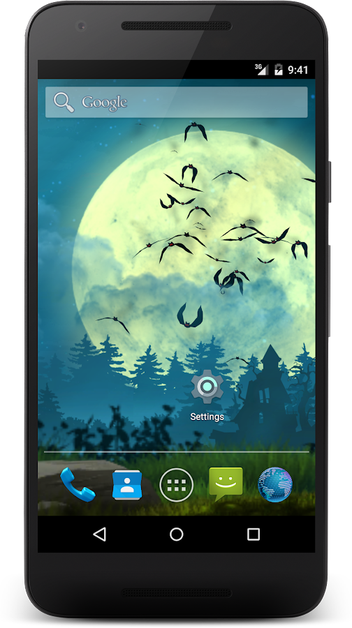 Bats live wallpaper Screenshot 4