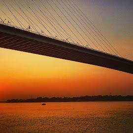 Sunset by Nupur Mondal - Novices Only Landscapes