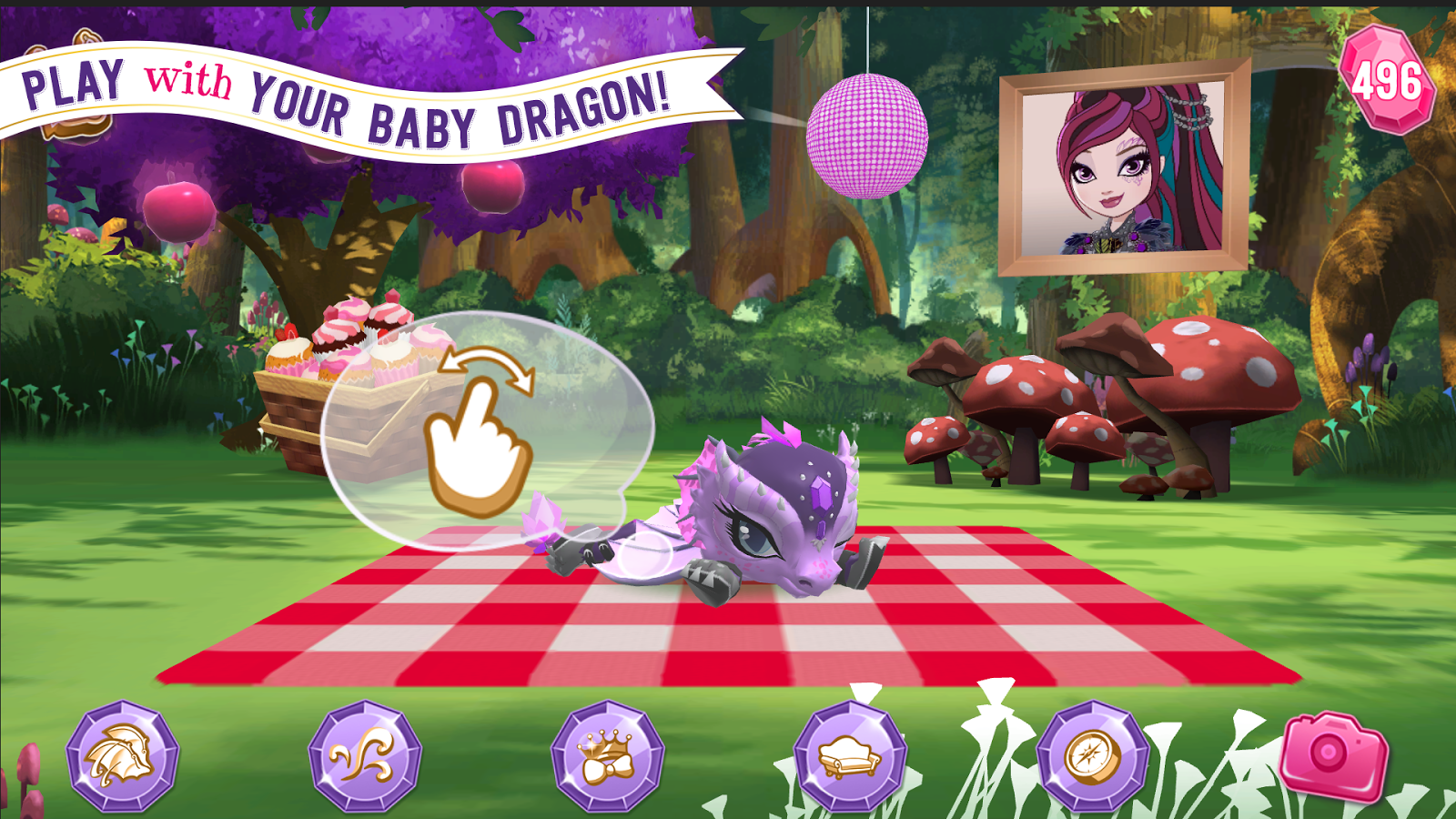 Ever After High™: Baby Dragons Screenshot 5