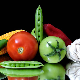 MIXED BEAUTY by SANGEETA MENA  - Food & Drink Fruits & Vegetables