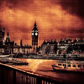 BIG-BEN by Mihai Sirb - Digital Art Places ( mfmimage, big ben, cityscape, city )