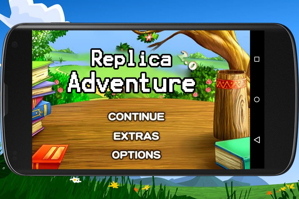 Replica Adventure Screenshot 0