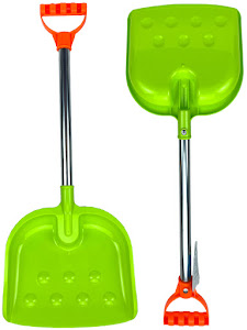 """Набор серии """"Зимние забавы"""", лопатка совковая XL, зеленый"""