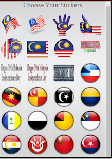 Merdeka Day Sticker - screenshot
