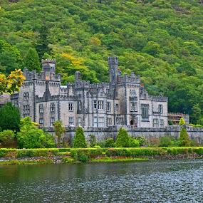 Kylemore Abby, Ireland by Bente Agerup - Buildings & Architecture Public & Historical ( nature, buildings, castle, architecture )