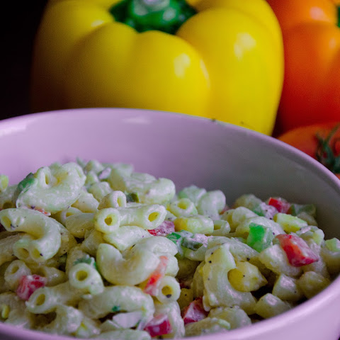 Best Ever Creamy Pasta Salad