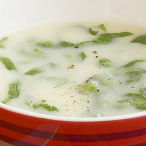 Cauliflower, Potato and Spinach Soup