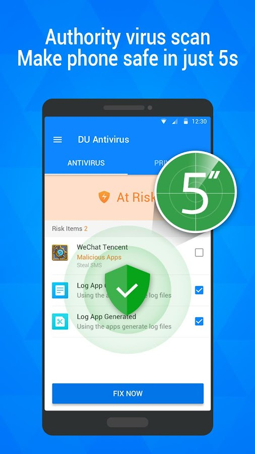 DU Antivirus - App Lock Free Screenshot 1