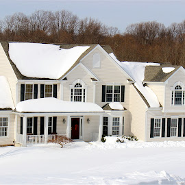 The white house. by Peter DiMarco - Buildings & Architecture Homes ( home, building, houses, house, homes )