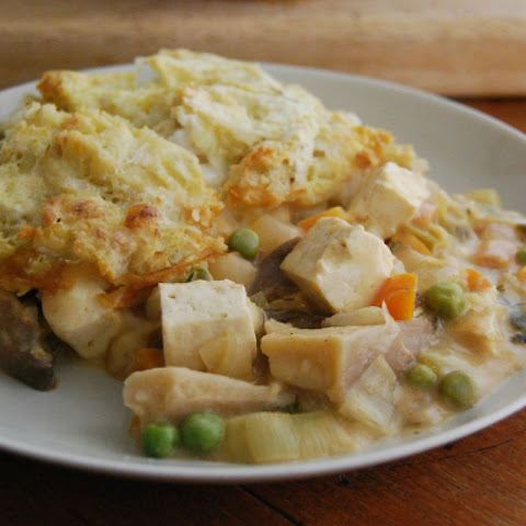 'Fish' Pie With Tofu and Oyster Mushrooms [Vegan, Gluten-Free]