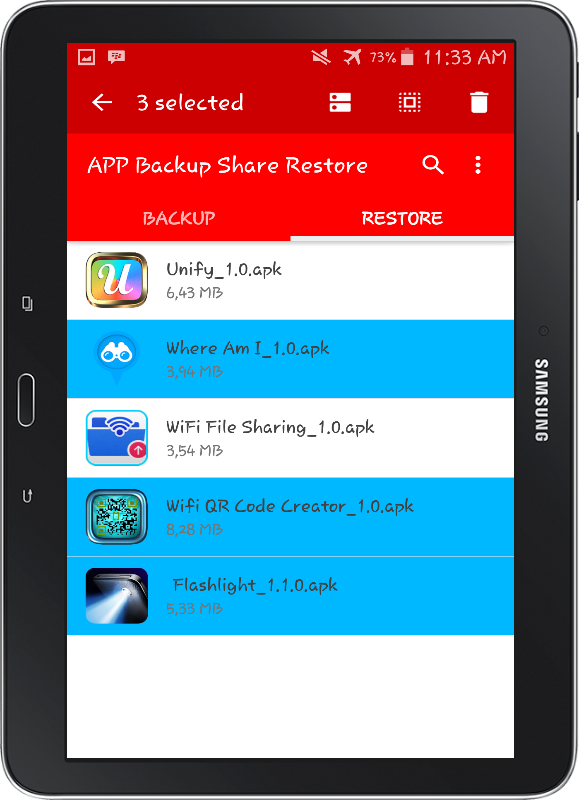 APP Backup Share Restore PRO Screenshot 8