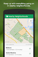 Screenshot of Nextdoor