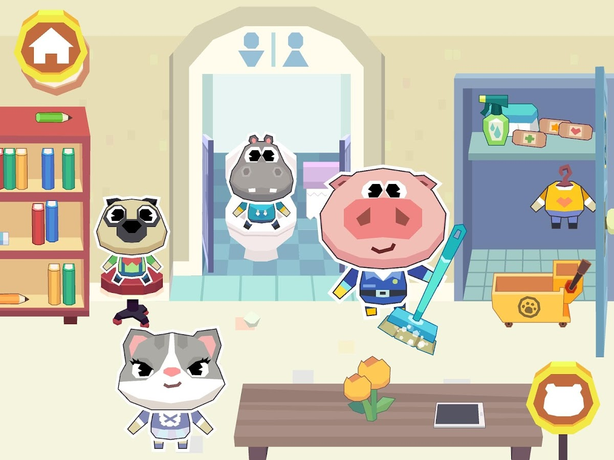Dr. Panda School Screenshot 13