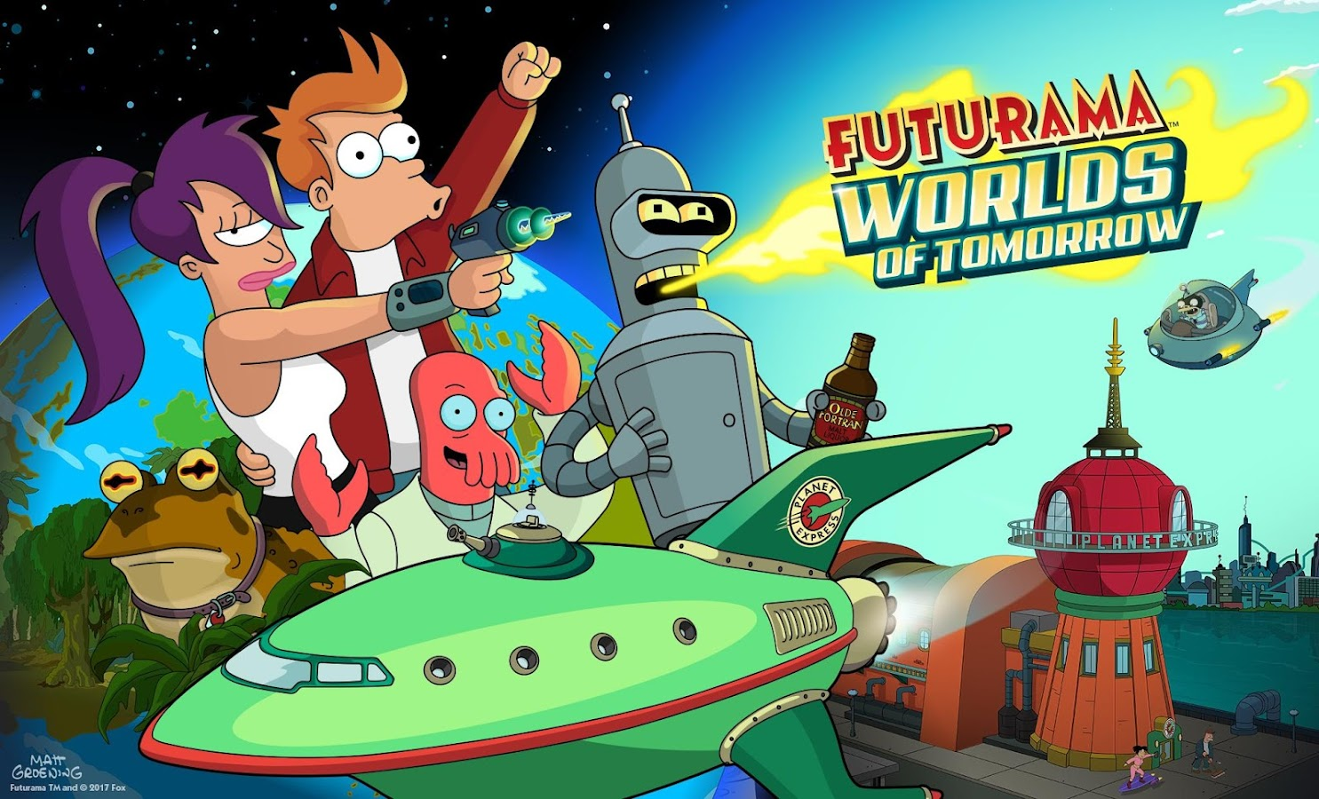 Futurama: Worlds of Tomorrow Screenshot 7