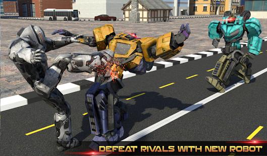 Futuristic Robot Battle APK for Bluestacks