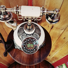 Moment in time by Hayley Moortele - Artistic Objects Technology Objects ( #telephone, #old, #callme, #phonebooth, #stillife, #oldvsnew )