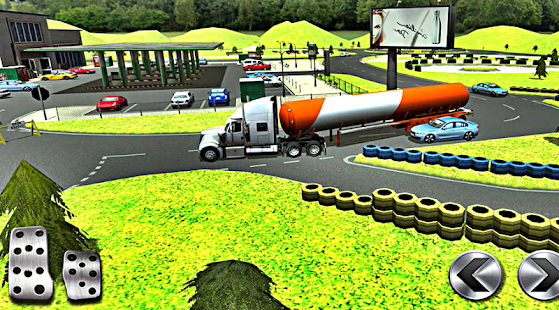 Petrol Station Car Parking - screenshot