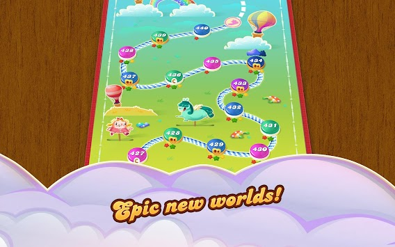 Candy Crush Saga APK screenshot thumbnail 10