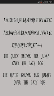 Fancy Free Fonts - screenshot