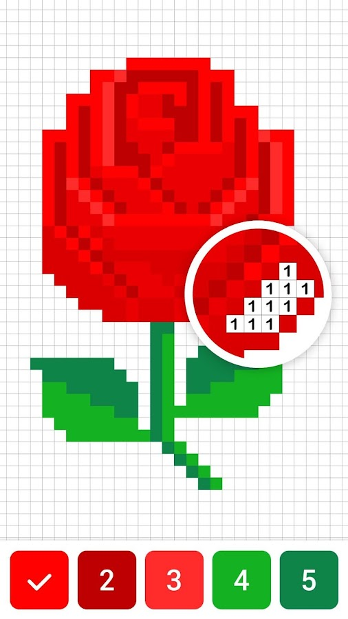 Draw.ly - Color by Number Pixel Art Coloring  Poster