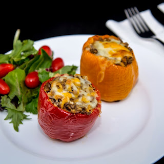 LENTIL STUFFED BELL PEPPER