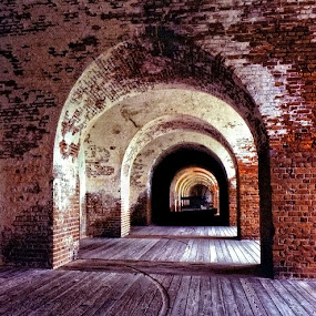 Fort Pulaski by Ron Plasencia - Buildings & Architecture Other Interior