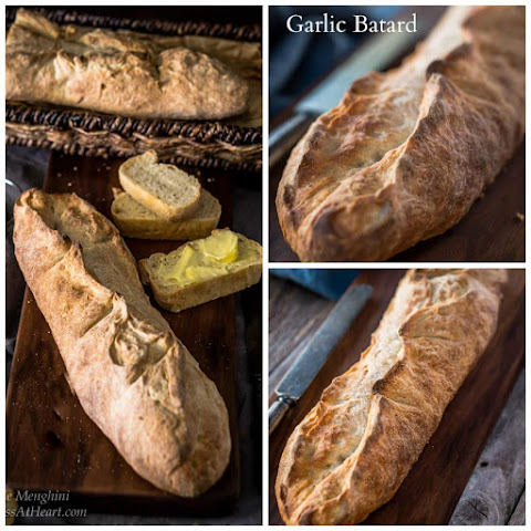 Garlic Batard - #BreadBakers