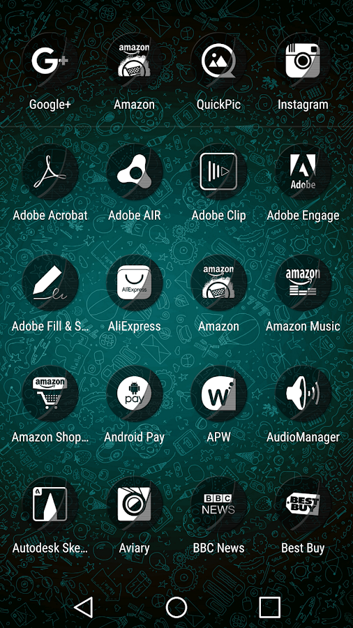 Naz Transparency - Icon Pack Screenshot 3