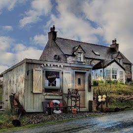 Harris Gift Shop by Ian Pinn - Buildings & Architecture Homes ( scotland, harris, hebrides, quaint, island )