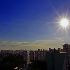 Sunshine by Fajar Krisna - City,  Street & Park  Vistas ( sunshine )