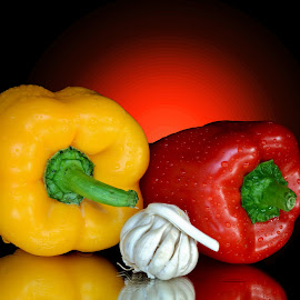 Capsicums by Asif Bora - Food & Drink Fruits & Vegetables