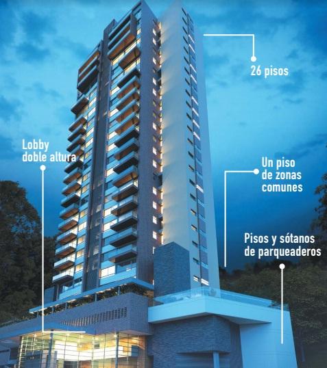 apartamento en venta poblado 585-21473