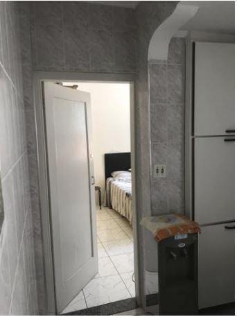 Kitnet com 1 dormitório para alugar, 36 m² por R$ 1.200/mês - José Menino - Santos/SP