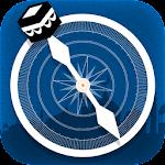 Qibla direction free application Icon