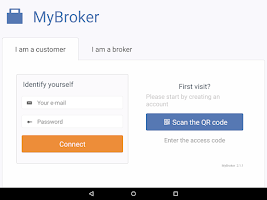 Screenshot of MyBroker