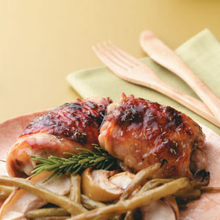 Apple-Brined Chicken Thighs