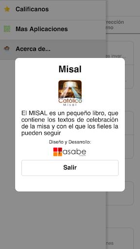 Misal Católico 2018 screenshot 8