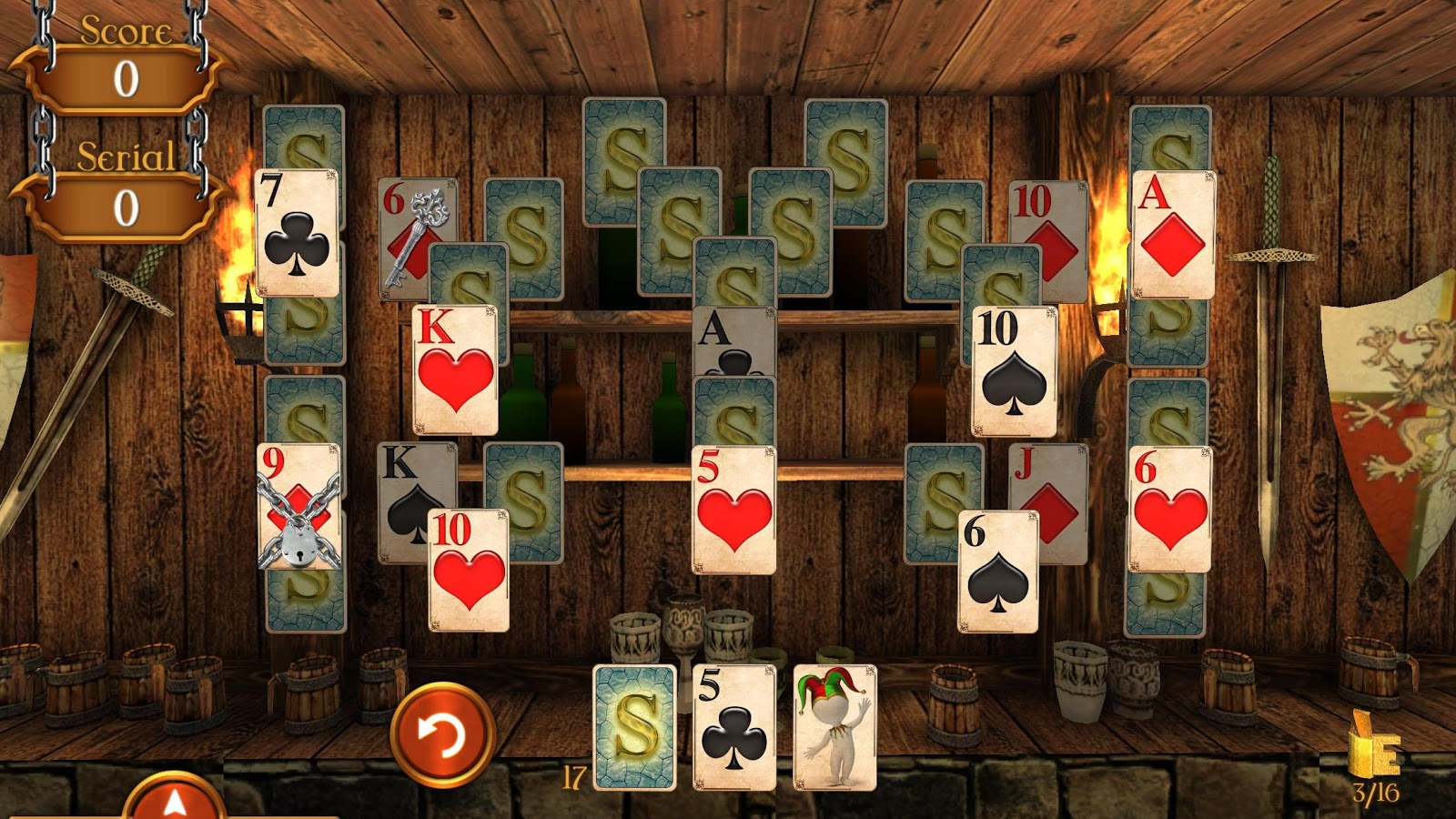 Solitaire Dungeon Escape 2 Screenshot 3