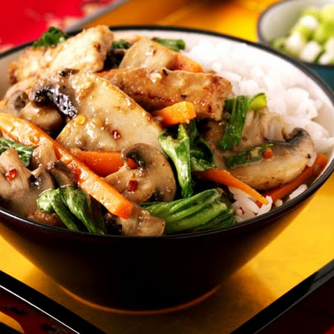 Five Spice Pork And Mushroom Stir-fry