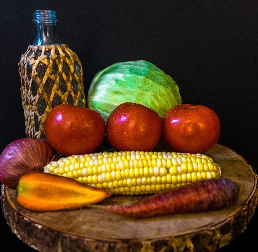 Veggie Medley by Antonio Winston - Food & Drink Fruits & Vegetables