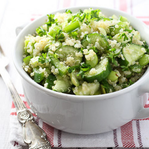 7 Shades of Green – Spring Quinoa Salad