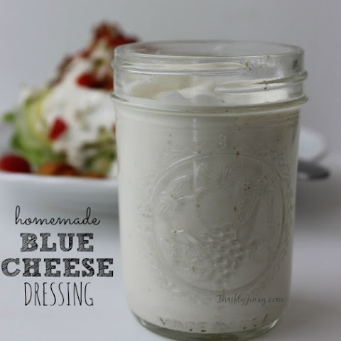 Easy Homemade Blue Cheese Dressing