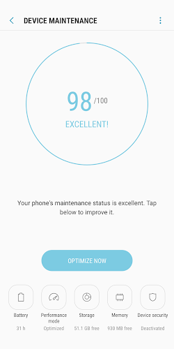 Device Maintenance Android App Screenshot